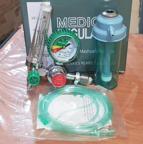 Toko penjual regulator oksigen, pedagang regulater O2 jual tabung oksigen